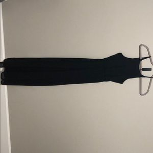Francescas black chiffon dress